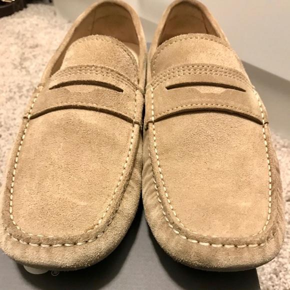 Ecco Shoes   Ecco Mens Suede Driver